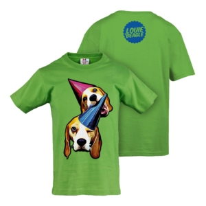 LOUIE & MARIE T-SHIRT KIDS KIWI