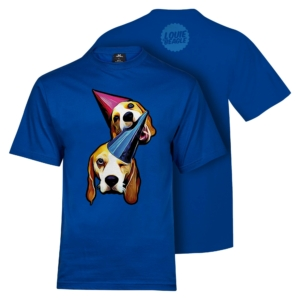 Louie & Marie T-Shirt Men Blue